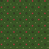 HH - Holiday Dots on Green