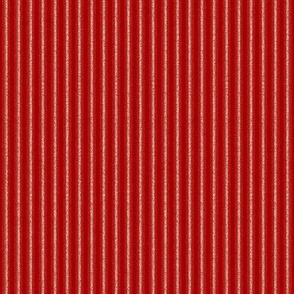 HH - Brushed Stripe Red
