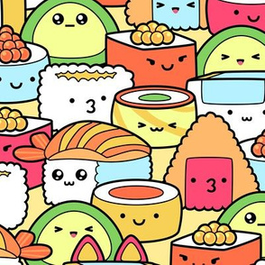 Colorful Kawaii Sushi
