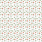 strawberry pattern_brown 2
