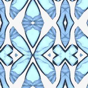Blue Pattern 03