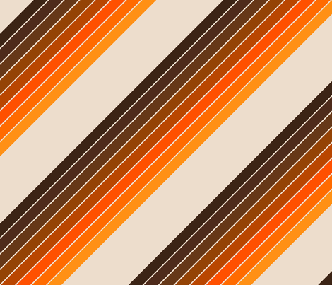 Candy Stripe // Golden fabric by circa78designs on Spoonflower - custom fabric