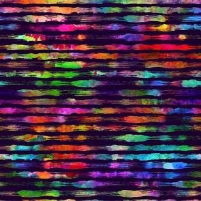 Rainbow stripes brush
