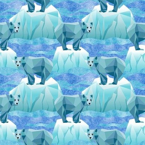 Small Save Our Geodesic Polar Bears