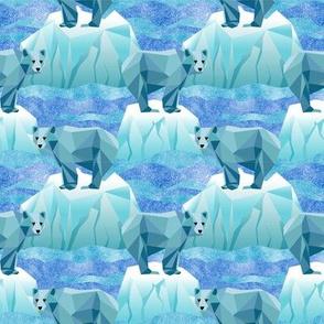 Small Save Our Geodesic Polar Bears