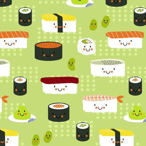 Too Cute to Eat - Sushi