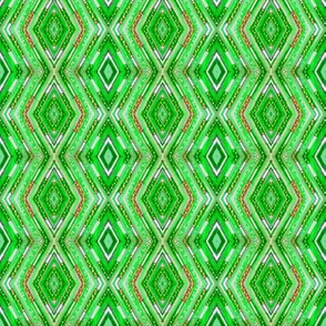 Tribal Diamonds - Green