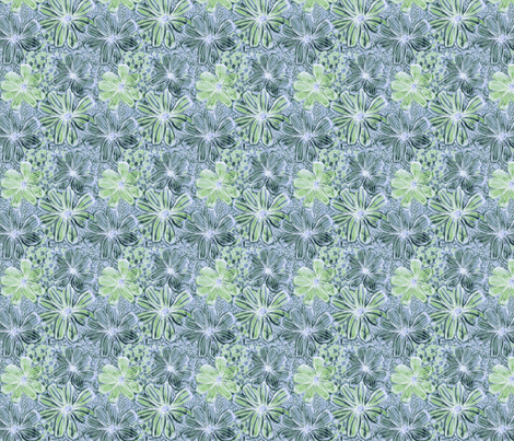 faded_florals fabric by @millydees on Spoonflower - custom fabric