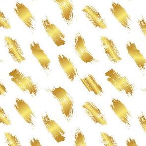 Golden brush