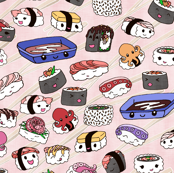 Kawaii Sushi Pink