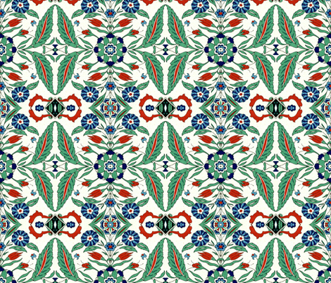 indo-persian 256 fabric by hypersphere on Spoonflower - custom fabric