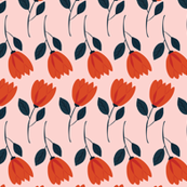Summer Garden - Stems // Pink