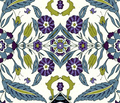 indo-persian 257 fabric by hypersphere on Spoonflower - custom fabric