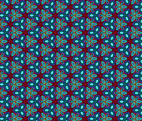 psychedelic_spiral_designs_12 fabric by southernfabricdiva on Spoonflower - custom fabric