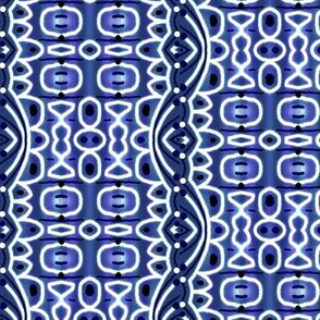 Roll with the curve-Indigo wave