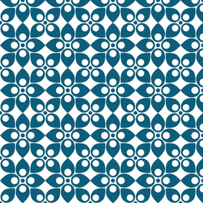 Swedish Modern dark teal