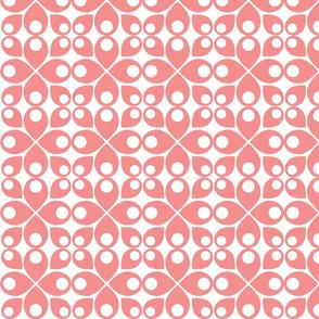 Swedish Modern Gray red pink