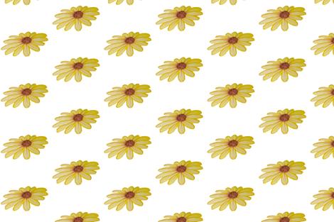 Yellow_Flower fabric by mama_zona on Spoonflower - custom fabric