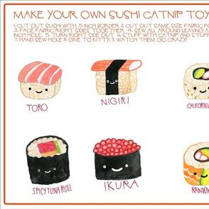cat nip sushi
