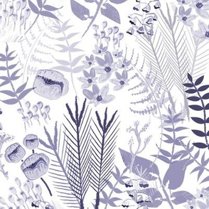 Purple botanical classic