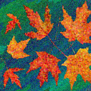 Pointillistic Autumn Bluster