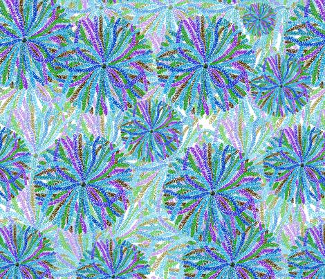 purple pointillism fabric by annaostapowiczkulczycka on Spoonflower - custom fabric