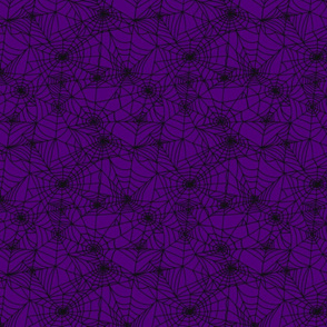 Gothic Purple Webs