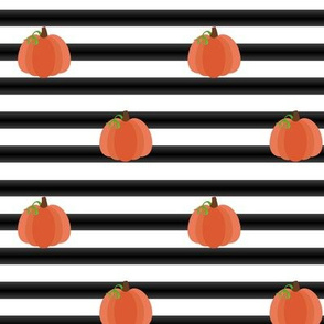 Mod Pumpkin Stripes