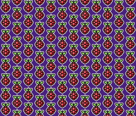 Raspberry fabric by red_wolf on Spoonflower - custom fabric
