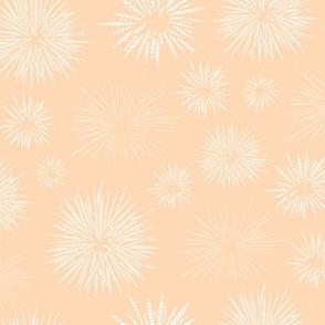 Hawaiian Tidal Pool-Urchins Peach/White