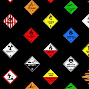 Hazardous chemical diamonds