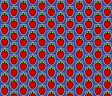 Apple fabric by red_wolf on Spoonflower - custom fabric