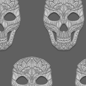 Large Skull Pattern 1