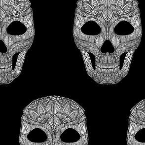 Skull Pattern 2