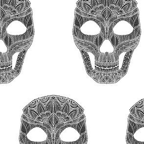 Skull Pattern 3