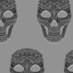 Skull Pattern 4