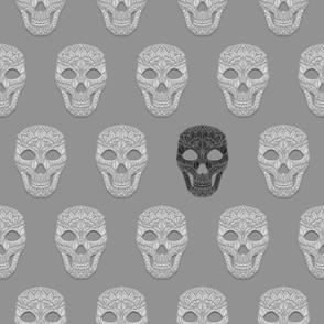 Skull Pattern 5