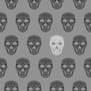 Skull Pattern 6