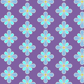 Pastel Blue Flower