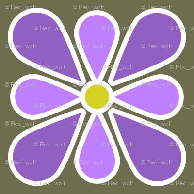 Pastel Purple Flower