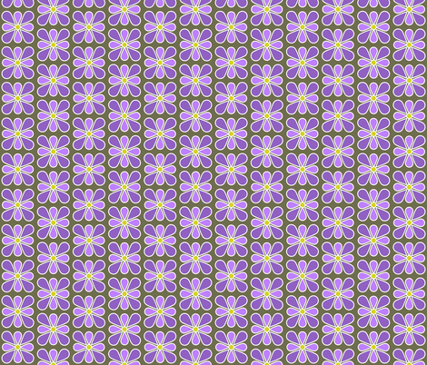 Pastel Purple Flower fabric by red_wolf on Spoonflower - custom fabric