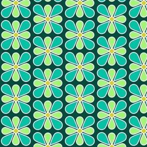 Pastel Green Flower