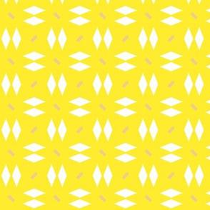 Geometric Pattern: Double Diamond Dash