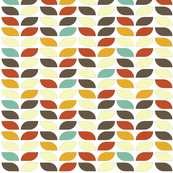 Geometric Pattern: Leaf: Fall