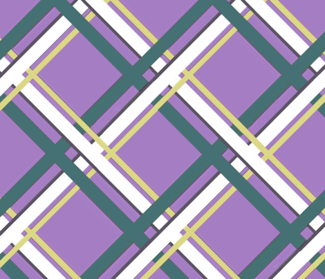 Plaid-Normous - Purple fabric by engravogirl on Spoonflower - custom fabric