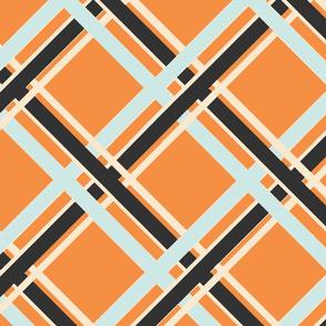 Plaid-Normous - Orange