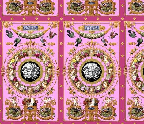 Rrspoonflower_1_pink_baroque_doors_cartoon_medusa_shop_preview