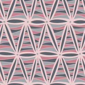 Bliss Triangles (Pink and Gray)