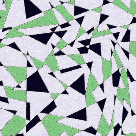 triangoli 32 fabric by hypersphere on Spoonflower - custom fabric