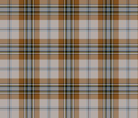 "MacLean of Duart tartan, 6"" weathered fabric by weavingmajor on Spoonflower - custom fabric"
